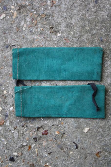 Petit sac toile avec tampon militaire Img_4612
