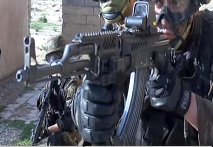 القوات الخاصة الجزائرية : فوج المناورات العملياتية RMO116 116_110