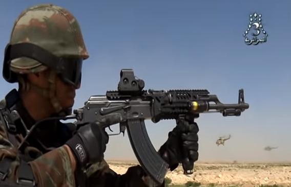 القوات الخاصة الجزائرية : فوج المناورات العملياتية RMO116 116_310