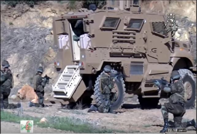 القوات الخاصة الجزائرية : فوج المناورات العملياتية RMO116 116_710