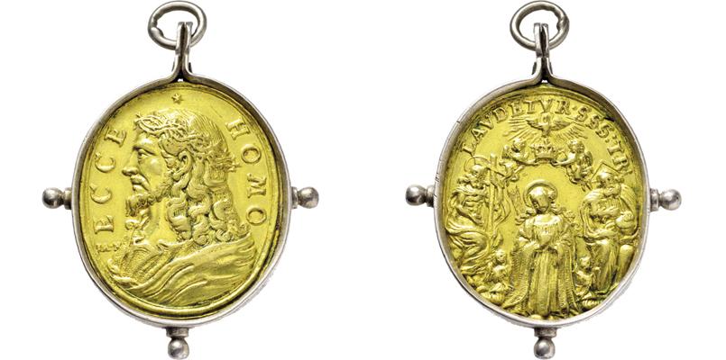 San Jorge / Coronación de la Virgen - MR625 (R.M. SXVII-O484) 03024-10