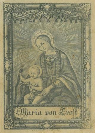 San Juan de Sahagún / Maria von Trost (Virgen Consolación y Correa), S. XVIII - MR797 15108911