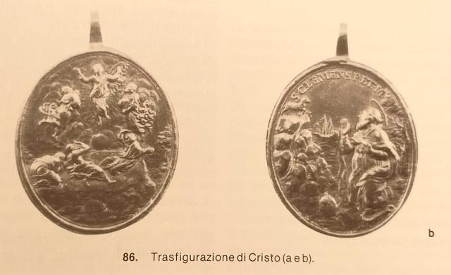 Transfiguración de Cristo / San Clemente Pontífice y Mártir , S. XVIII 20190110