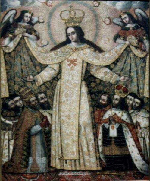 Salvator Mundi / Nuestra Señora de la Merced - s. XVII 210