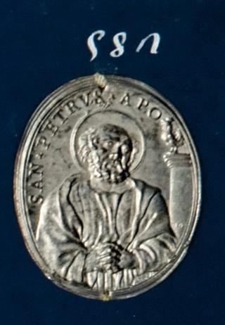 San Pedro apóstol / Santa Verónica (R.M. SXVII-O512) 58210