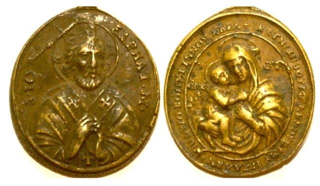 San Josafat /  Madre de Dios Zhirovitskaya, S. XVIII Archiv10