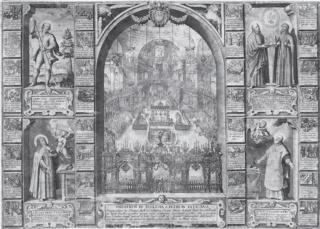 Virgen de Monte Santo de Bohemia ( Svatá Hora) A.H/ San Ignacio de Loyola y San Francisco Javier, F.T., S.XVII - (MAM) ( R.M. SXVII-O561)  Bernin10