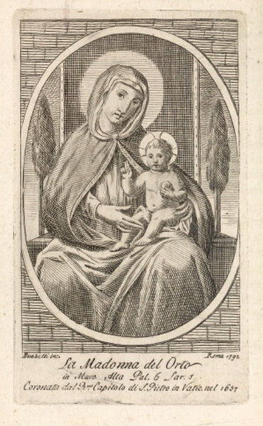 Virgen del Horto / Salvator Mundi - MR796 Bombel11