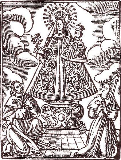 Medalla de Nª Sª de Butsènit y Sª Bárbara, Lleida, Segrià, finales siglo XIX. (AM) Butszo10