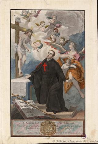 San Camilo de Lelis / San José - MR618 ( R.M. SXVIII-O391) Camilo10