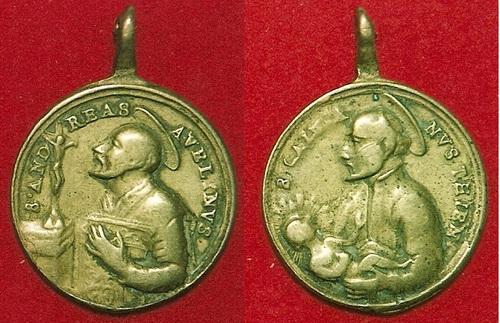 San Estanislao de Kostka / San Luis Gonzaga, s. XVIII Cayeta10