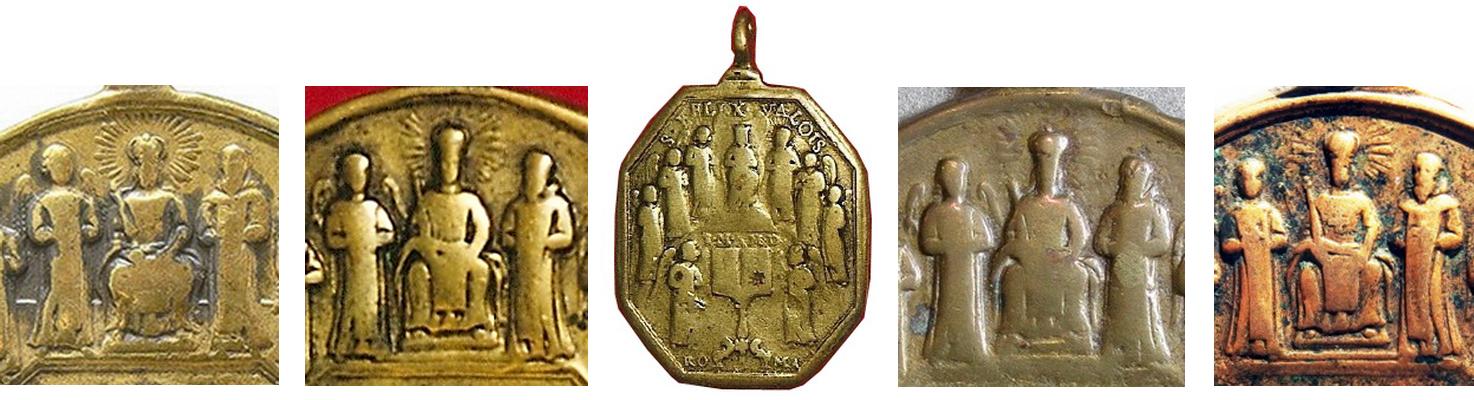 San Juan de Mata / Virgen del Coro-Trinitaria, S. XVIII - MR807  Compar12
