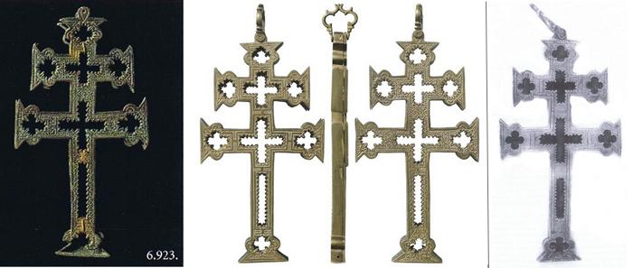 Cruz de Caravaca Relicario, S.XVII - CC106 Dommus10