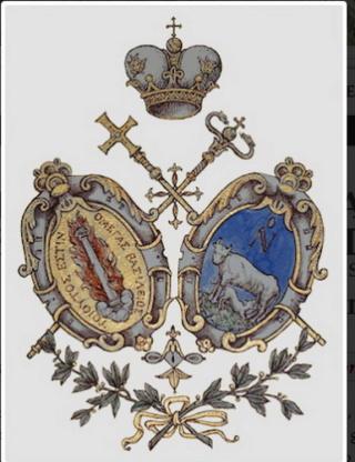 Santa Maria de Grottaferrata / Santos Basilio, Nilo y Bartolomé - MR764 (R.M. SXVIII-O472) (AM) Escudo11