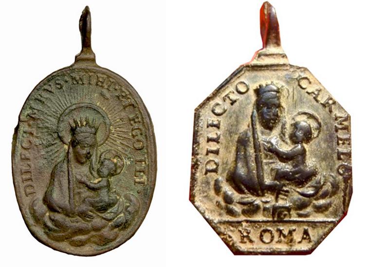 San Francisco de Paula / Virgen del Carmen (R.M. SXVII-O485) Franci11