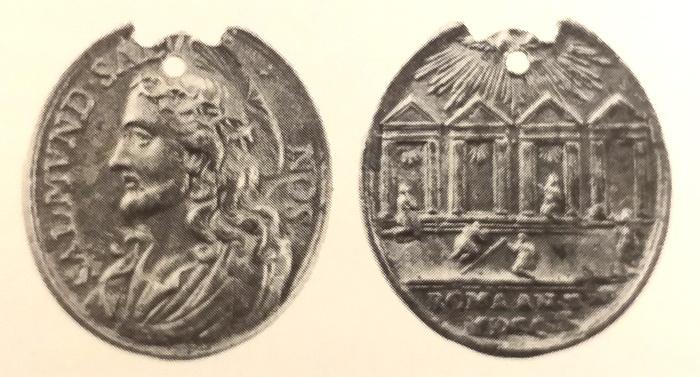 Salvator Mundi / Cuatro basílicas de Roma - MR753 (R.M. SXVII-C110) Gallam10