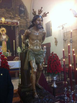 Sto. Cristo de la Salud de Málaga / San Judas Tadeo S-XVIII Img_8910