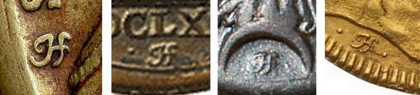 Aproximación al estudio de las medallas devocionales Hamerani de los siglos XVII-XVIII  / A propósito de una firma: IO. HAMERANVS. F. Jhf110