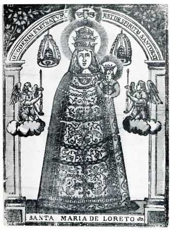 Instrumentos pasión-Jesús Niño dormido / Instrumentos pasión-Virgen de Loreto (R.M. SXVII-Ot95)  Madonn14
