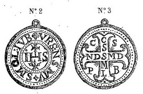 LAS MEDALLAS Y CRUCES DE SAN BENITO DE NURSIA  EN LA EUROPA POSTRIDENTINA Medall16