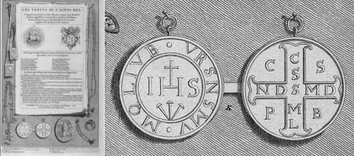 LAS MEDALLAS Y CRUCES DE SAN BENITO DE NURSIA  EN LA EUROPA POSTRIDENTINA Medall17