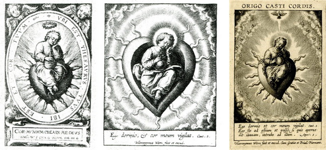 Instrumentos pasión-Jesús Niño dormido / Instrumentos pasión-Virgen de Loreto (R.M. SXVII-Ot95)  Nizo_d10