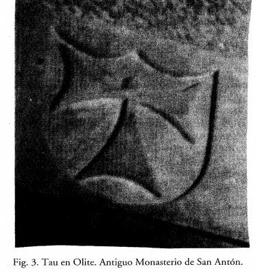 San Antonio Abad (S. Antón) / Cruz Tau - s. XVII Oliete10