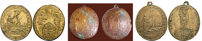 Medalla de la peste de Munich (Pestmedaille in Münche 1634) Petsme10