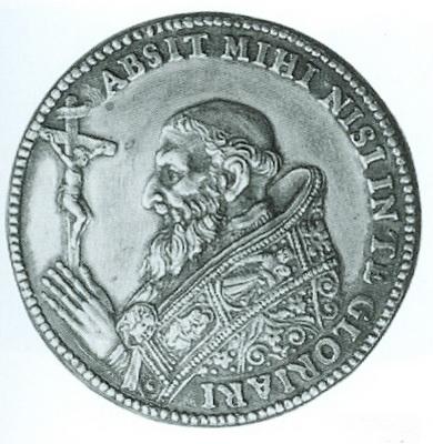 Papa Pio V / Anunciación - MR690 (R.M. SXVII-C95) Piov0011