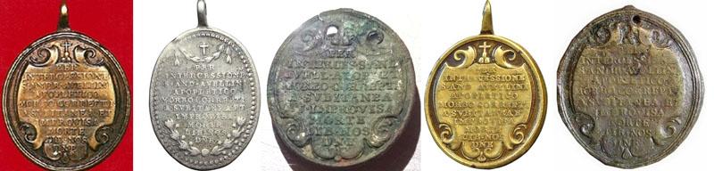 Medalla de San Andrés Avelino / Oración  Revers10