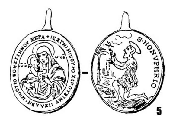 San Onofre /  Madre de Dios Zhirovitskaya, S. XVIII Rewoli11