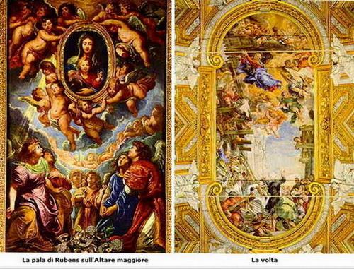 San Felipe Neri / Coronación Madonna della Vallicella - s. XVIII Rubens10