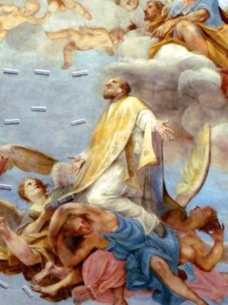 san Ignacio de Loyola - Glorificación de San Felipe Neri, S. XVIII San_fi10