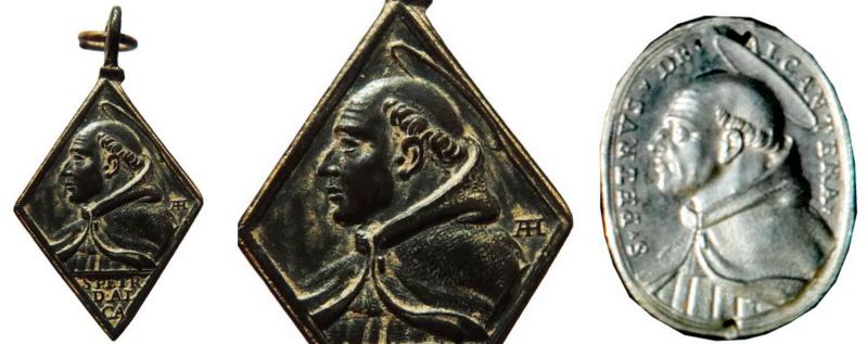 S. Pedro de Alcántara / Santa Maria Magdalena de Pazzi - (HAMERANI) (R.M. SXVII-Ot 89) San_pe10