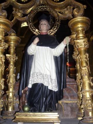 Santo Domingo de Guzmán / Santísimo Cristo del Milagro  (R.M. SXVIII-O433 Sto_do11