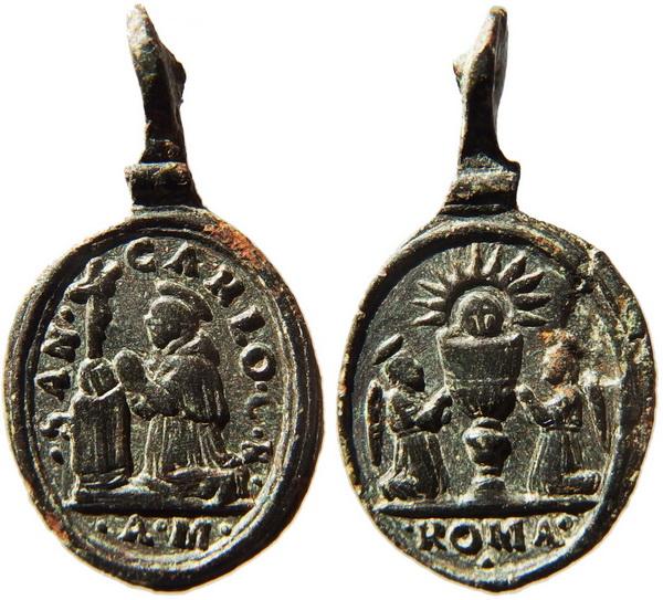 borromeo - Las  MEDALLAS de San CARLOS BORROMEO. SIGLOS XVI- XVII- XVIII. Apuntes iconográficos. Traian11