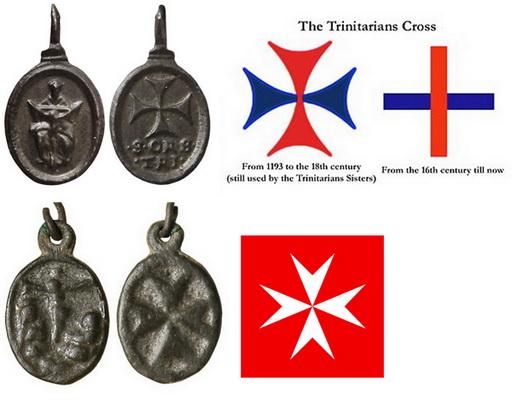 Santísima Trinidad / Cruz de Malta (2866) (R.M. SXVII-O504) Trinit10