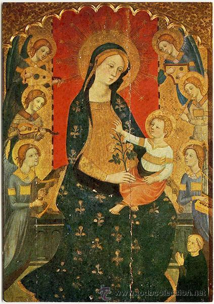 Con esta tengo dudas, solo se que es de Sant Cugat del Vallès. Finales s. XIX, principios del XX. Virgen11