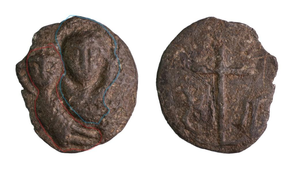 Virgen con Niño / Cruz, s. XVI Virgen13