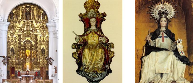 San Juan de Mata / Virgen del Coro-Trinitaria, S. XVIII - MR807  Virgen14