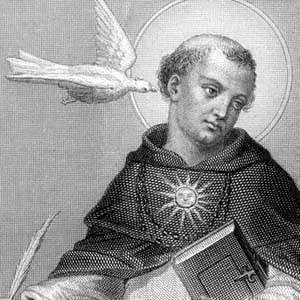 Santo Tomás de Aquino /Virgen del Rosario, s.  XVII (R.M. Pe Tomas de Aquino 4) Z_toma10