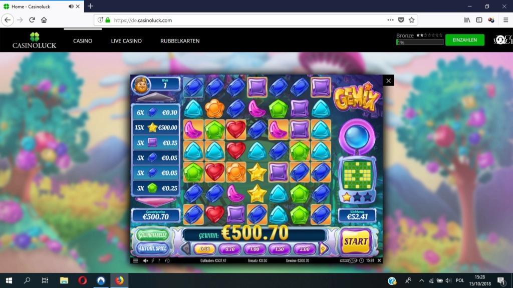 Screenshoty naszych wygranych (minimum 200zł - 50 euro) - kasyno - Page 16 Gemix11