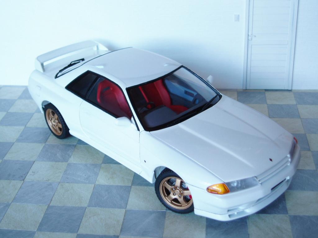 MT: Nissan Skyline GT-R R32 1/24 Tamiya P3060310