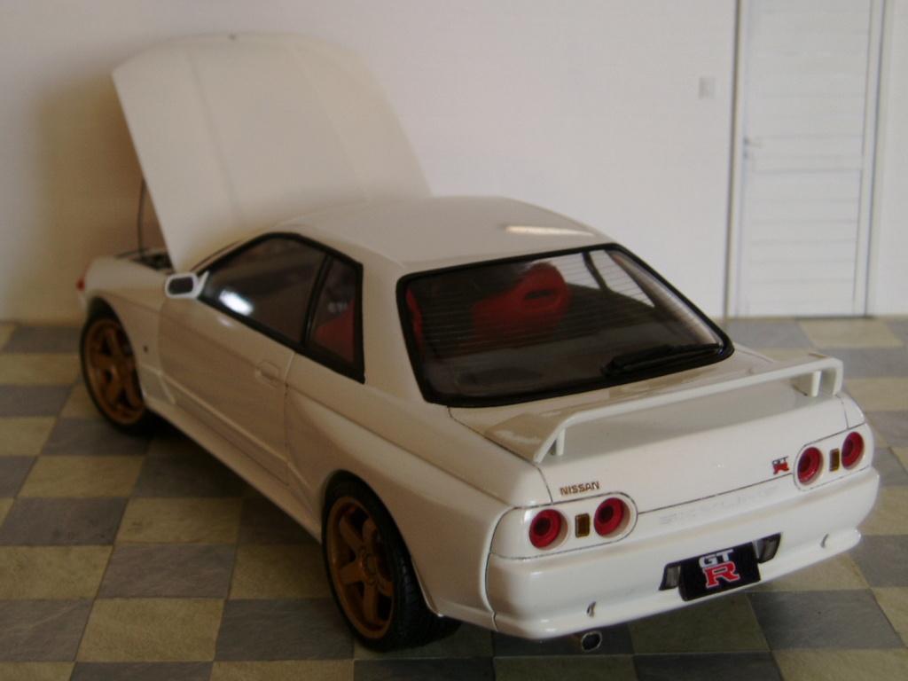 MT: Nissan Skyline GT-R R32 1/24 Tamiya P3250313