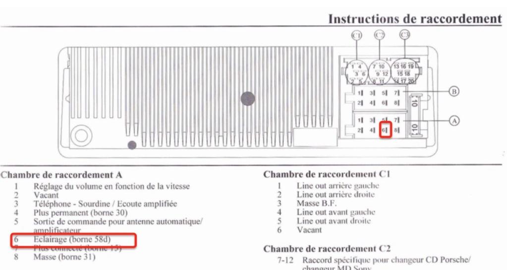 Où brancher les feux diurnes LED depuis l'habitacle d'une Boxster 986 ? Captur23