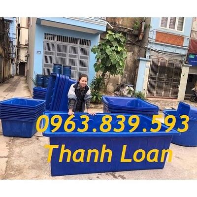 Bán thùng nhựa chữ nhật 1000L giá rẻ giao hàng tận nơi - Call: 0963.839.593 Thanh Loan Thung-40