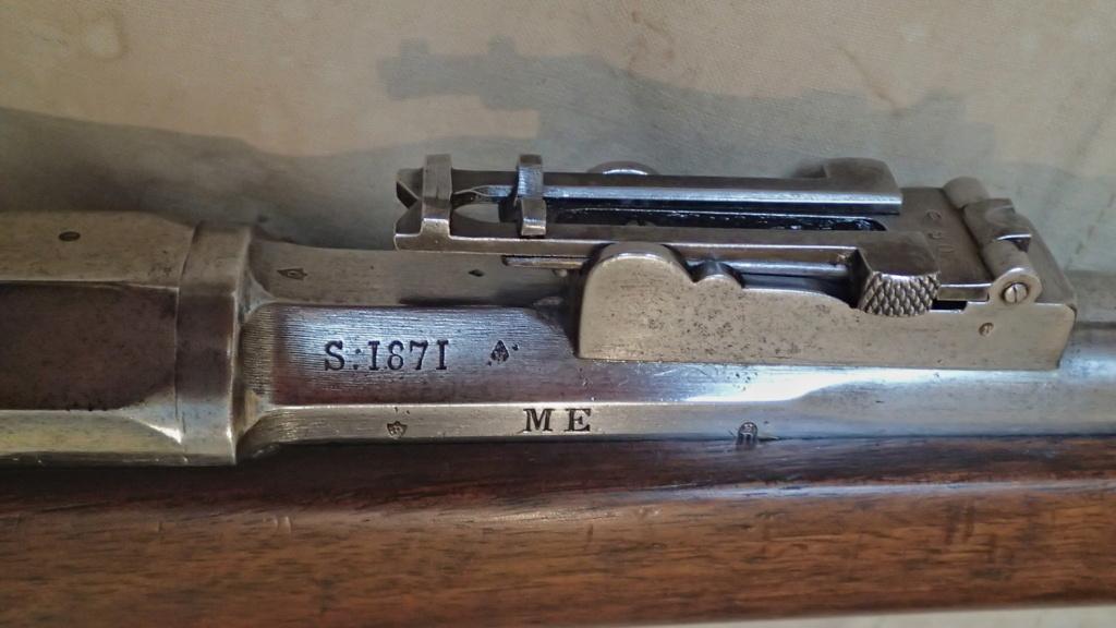Présentation d'un CHASSEPOT Mle 1866 de 1871 P9120613