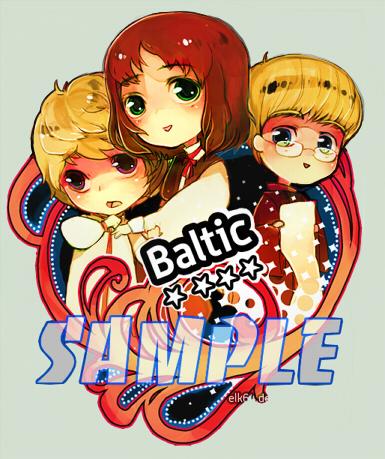 Trio balte Elk6410
