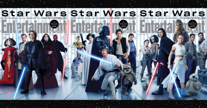 Episode IX: The Rise of Skywalker Press Tour & Interviews - Page 12 Cover10