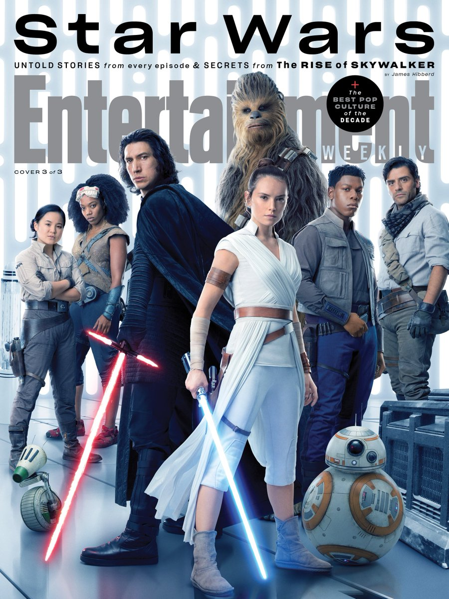 Episode IX: The Rise of Skywalker Press Tour & Interviews - Page 12 Ew110